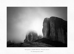 mist giants - study #9 (Teo Kefalopoulos - Art Photography) Tags: meteora