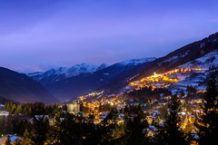Ponte di Legno (FoGh.cz) Tags: alps italy longexposition mountains night sky view winter x100t