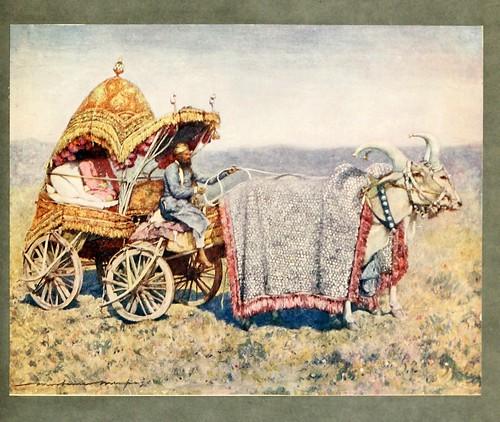 014- Carreta de bueyes nativa en Bikanir-The people of India 1910