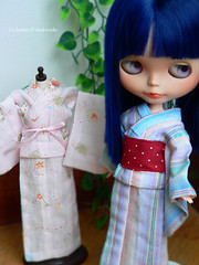 Yukata work in progress