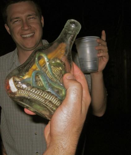 7.4.09 - snake whiskey