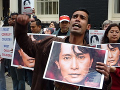 Burma protest for junta to face  International...