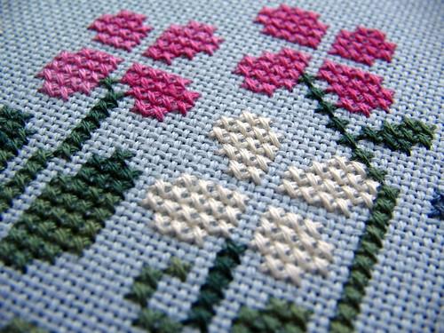 petals made of x's