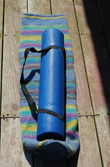Felted Yoga Mat bag