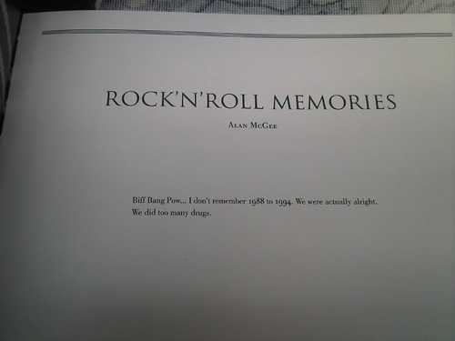 rock n roll memories