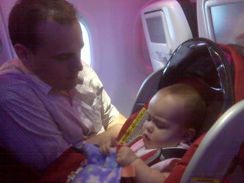 Em's first flight
