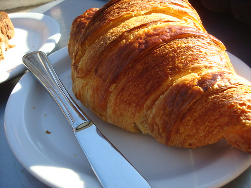 A perfect croissant at Tartine