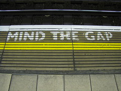 Mind the Gap, originally uploaded to Flickr by toastbrot81.