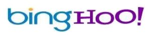Bing and Yahoo! logo mashup