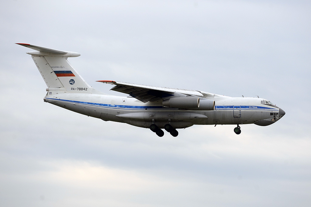 Russia - Air Force RA-78842 Ilyushin Il-76MD