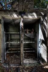 Hellingly Morgue (Romany WG) Tags: urban abandoned beautiful hospital dead explorer freezer corpse asylum morgue hallmark cadaver urbex hellingly refrigeration hauntingly