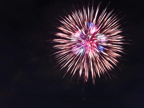 Fireworks in Itabashi, 2009 - 6