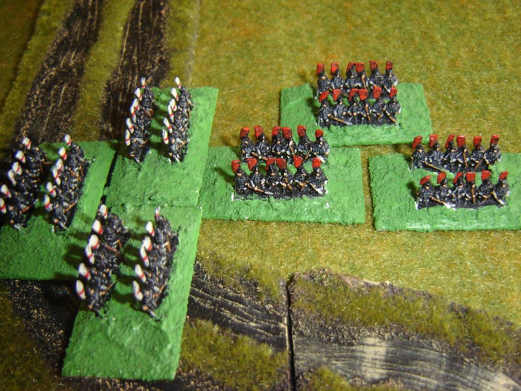 Tsuda Samurai hit Toyotomi in flank