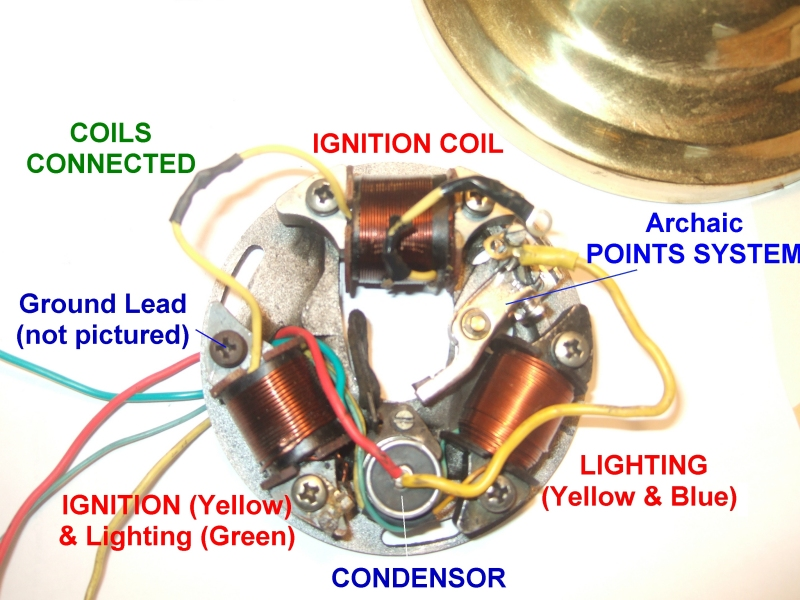Scooter Stator Coil Wiring Diagram On Battery Wiring Diagram Stator