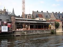 Graslei - Gent (bm^) Tags: city urban belgium belgique belgi ghent gent stad gand graslei oostvlaanderen  dsch50 easternflanders