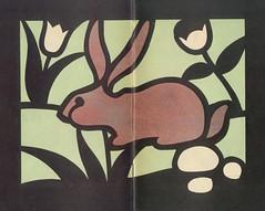 vitraux lapin