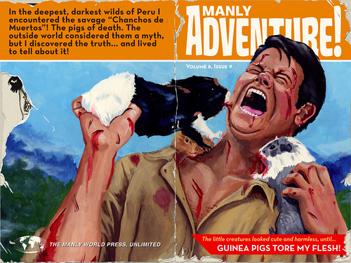 Guinea Pigs Tore My Flesh! Cover Spread