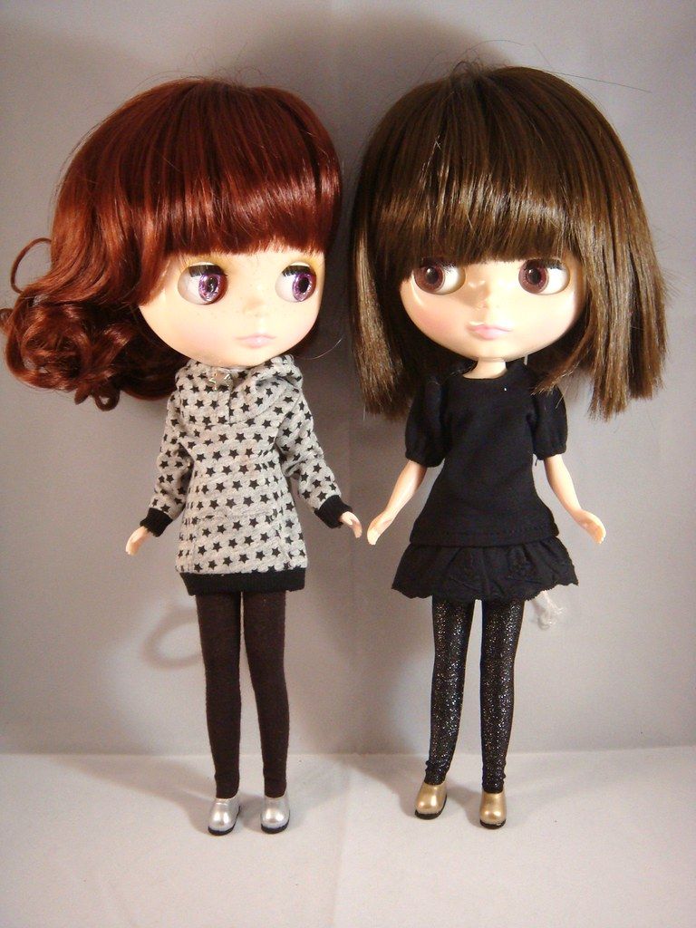 Blythe - Fashion Shoes - Silver and Gold (2 pairs)