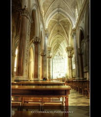 Erice - The interior of the Cathedral :: HDR