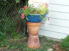 Clay Pots stacked