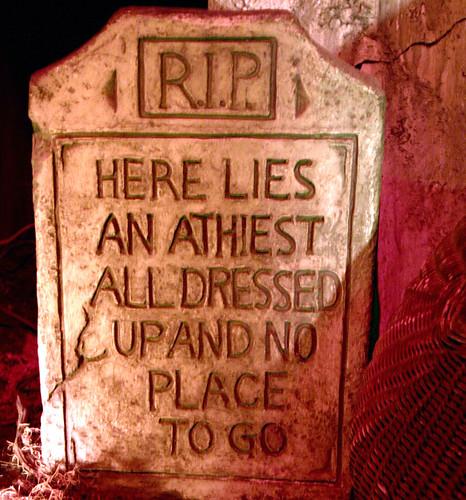 Atheis tombstone