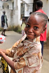 Orphaned and still smiling (TrotterImages) Tags: africa black kenya young orphan east portraitclassicshalloffame portrait