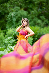 This is a gift (Lidia Camacho) Tags: portrait sunlight beautiful sunshine pose c