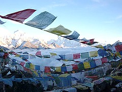 Gokyo Rei (Tibetan Prayer Flags)