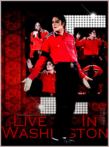 Live In Washington - Michael Jackson by TheLean.