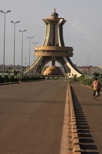 Ouagadougou's Ouaga 2000 suburb...