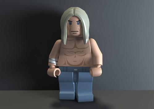 Lego Rock Band 'Iggy Pop'