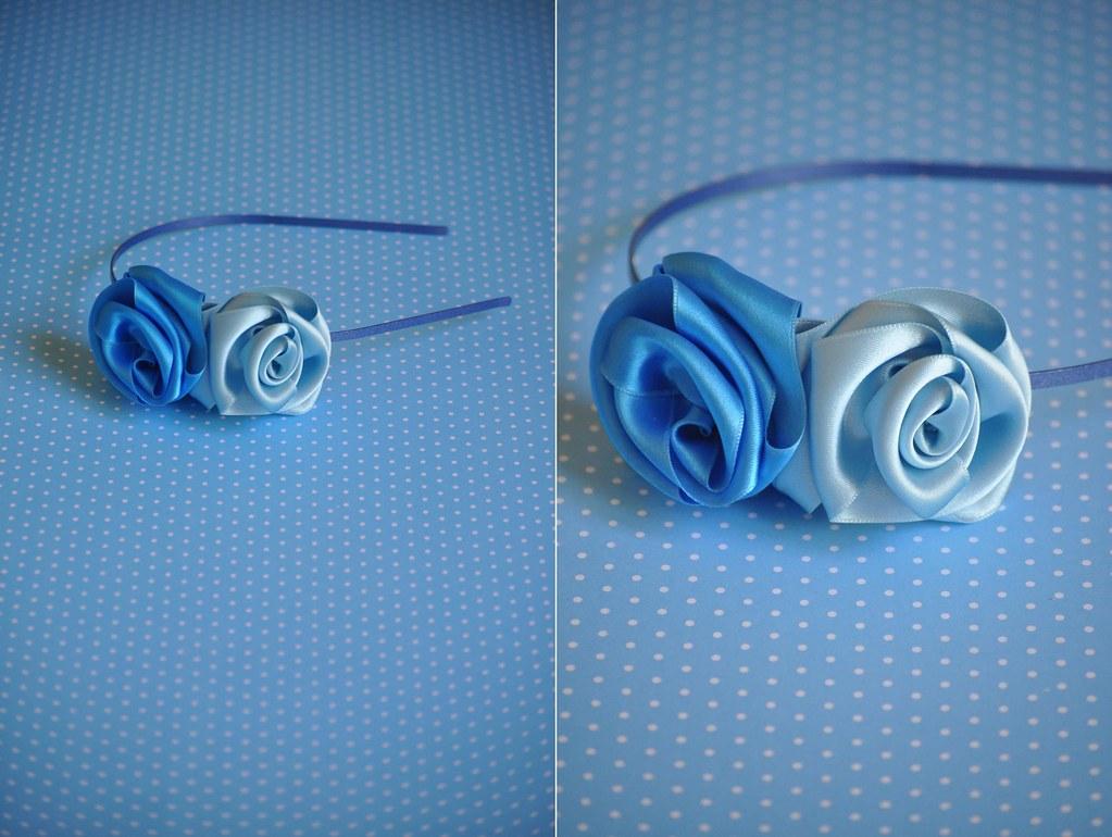 Headband Blue 02