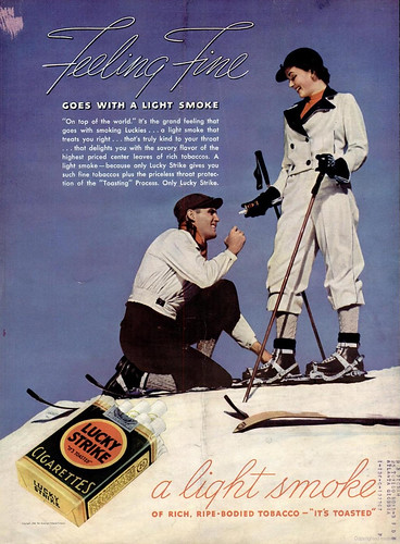 Lucky Strike Ad (LIFE 1937-01-18) by Fugue.