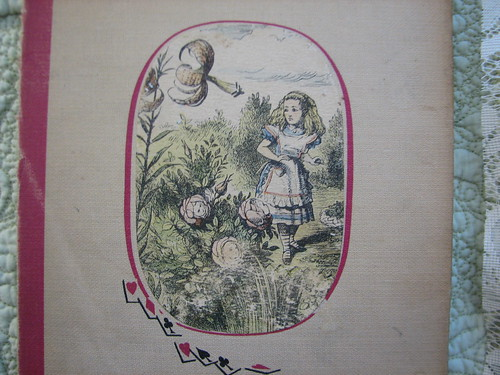 old alice book cover