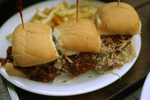 pork sliders at Sellers' Market