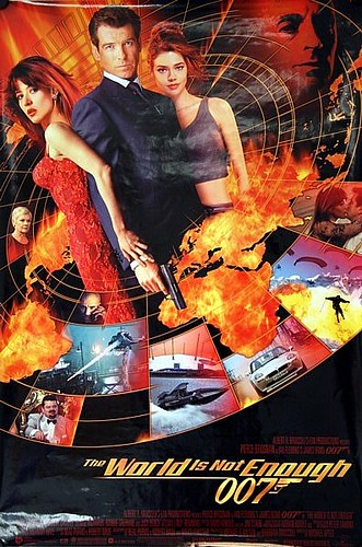 the world is not enough poster. James Bond: The World is Not