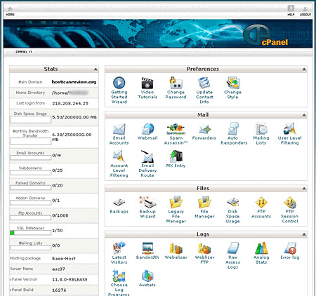 Website Tutorial : cPanel