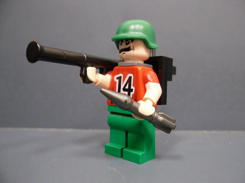 SGT. Bazooka custom minfig