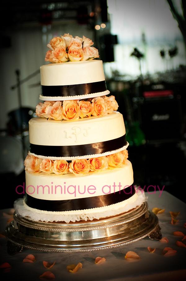 wedding cake chandler's charlottesville
