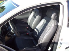 VW Rabbit 2.5 Interior (tystgermain) Tags: white rabbit vw volkswagen 25 2007
