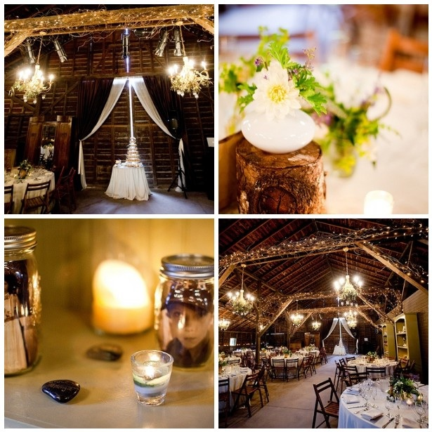 Eastern Rustic Organic Wedding Reception