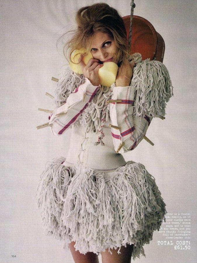 Make Do & Mend Malgosia Bela by Tim Walker for Vogue UK 1
