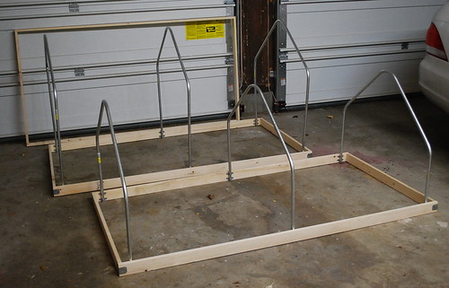 mini hoop house frame