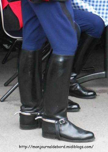 bottes Garde Républicaine 2009 - 01