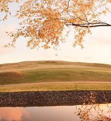 October Sunrise (kansalainen) Tags: morning autumn light panorama sunrise finland helsinki vuosaari