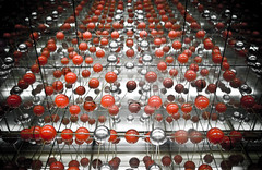 Atoms (tristanlb) Tags: red abstract reflection contrast mirror belgium pentax bowl round infinite atom anawesomeshot overtheexcellence thechallengefactory tristanlb newgoldenseal