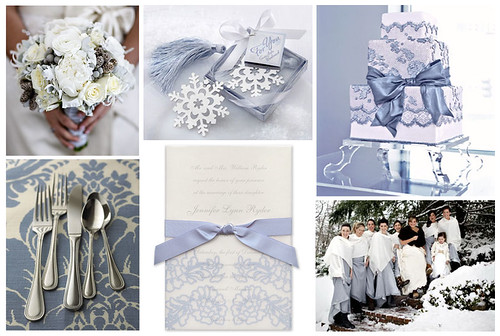 Ice Blue Wedding