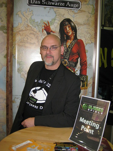 Thomas Römer (Ulisses-Spiele) auf der Spiel '09