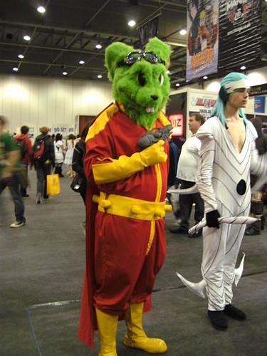 Bucky O'Hare cosplay