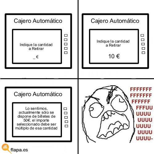 fffuuu_cajero fffuuu cajero dinero banco caja madrid